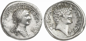 Marcus Antonius and Cleopatra Coin by Classical Numismatic Group