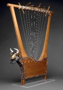Lyre from Queen Puabi's Tomb