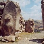 Lion Gate at Hattusas By © 2001 User:China_Crisis (Own work) [CC BY-SA 2.0 (http://creativecommons.org/licenses/by-sa/2.0)], via Wikimedia Commons