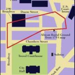 Modern Map of the African Burial Ground